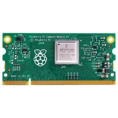 CM3+/16GB Single Board Computer, Raspberry Pi Compute Module 3 +, BCM2837B0 SoC, 16GB eMMC Memory