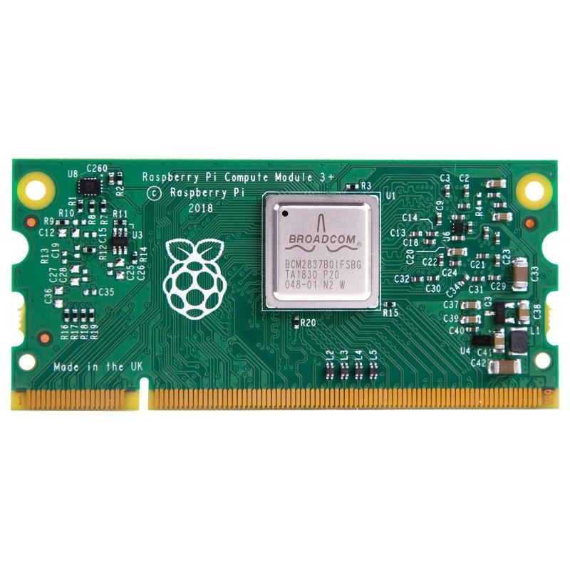 CM3+/8GB Raspberry Pi Compute Module 3 +, BCM2837B0 SoC, 8GB eMMC Memory