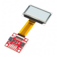 SparkFun Transparent Graphical OLED Breakout  Qwiic (SF-LCD-15173)