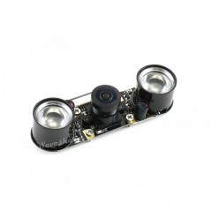 IMX219-160IR Camera, 160° FOV, Infrared, Applicable for Jetson Nano (WS-16680)