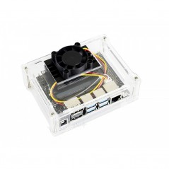 Acrylic Clear Case for Jetson Nano  (WS-16566)