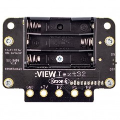 :VIEW text32 LCD 2x16 Screen for the BBC micro bit (KIT-5650)