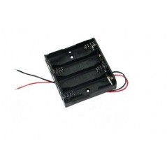 BAT-HOLDER-4XAA (Olimex) BATTERY HOLDER - 4 X AA