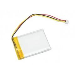 ACCU-LP623255/CL  Li-Po 3,7V/1100mAh,  6,2x32x55mm (CELLEVIA)