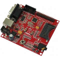 AVR-USB-STK (AT90USB162 DEV.BOARD WITH USB AND ICSP)