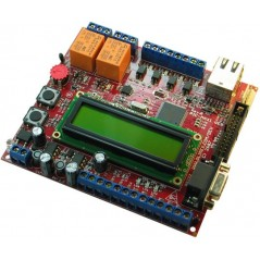 PIC-MAXI-WEB (WEB SERVER TCP-IP DEVELOPMENT BOARD)
