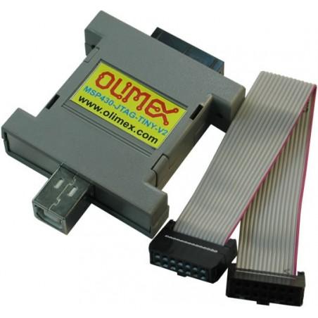 MSP430-JTAG-TINY-V2 (USB JTAG FOR PROGRAMMING/EMULATION)