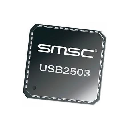 USB2503A-HZH  HUB 3PORT USB COMPATBL QFN48