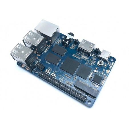 Banana Pi BPI-M4 (Realtek RTD1395 ARM Cortex-A53 Quad 64bit)