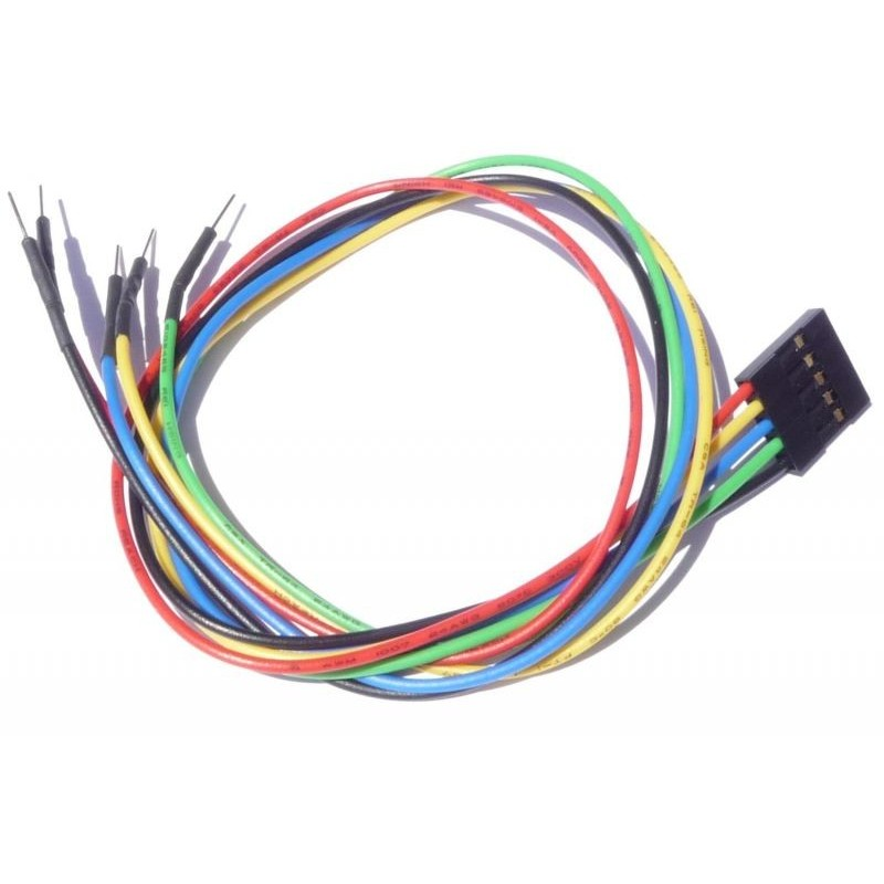 """5 pin Female Header 12"""" Cable for Arduino (MR008-001.1)"""