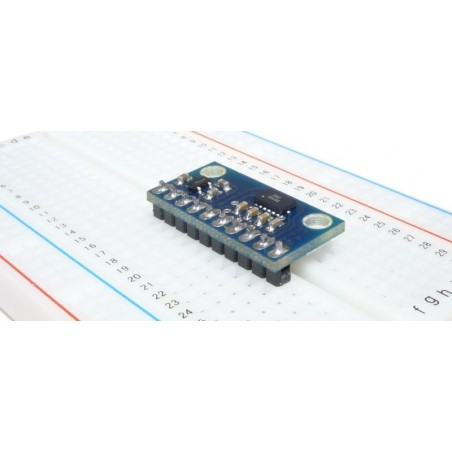MMA7331L 3-axis ±4g / ±12g Accelerometer with Volt.Reg (MR003-003.1)