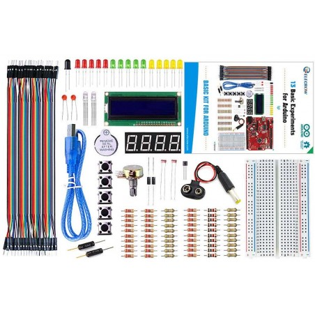 Beginner - Basic Kit for Arduino  (ER-ACK02124K)  Without Crowduino