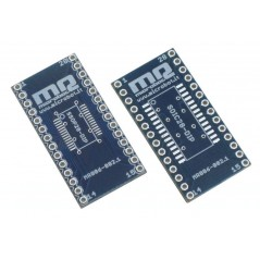 SSOP28 SOIC28 to DIP Adapter (MR006-002.1)