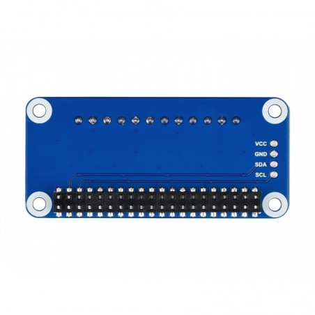 4-ch Current/Voltage/Power Monitor HAT for Raspberry Pi, I2C/SMBus (WS-17539)