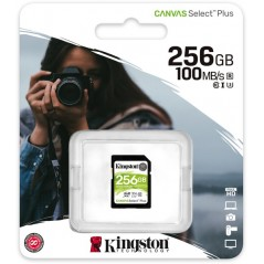 KINGSTON 256GB SDHC CANVAS...