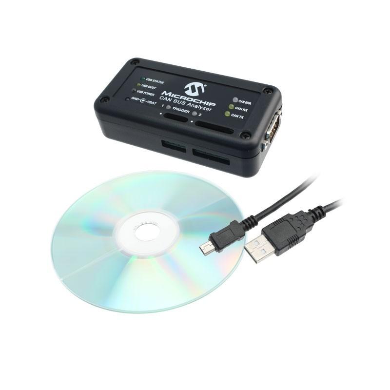 APGDT002 (Microchip) CAN BUS Analyzer