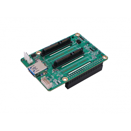 Dual SATA HAT for Raspberry Pi 4 (SE-114992115)  HDD/SSD