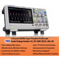 SDS1202X-E (Siglent)...