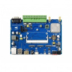 Compute Module Industrial IoT Base Board, 4G/PoE, For Raspberry Pi CM3 / CM3+ (WS-18866)