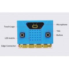 Silicone Protective Case for Micro: bit V1/V2 (ER-MIB61561C-B) BLUE