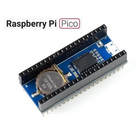 Precision RTC Module for Raspberry Pi Pico, Onboard DS3231 Chip (WS-19426)