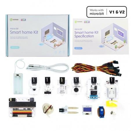 ELECFREAKS micro:bit Smart Home Kit (without micro:bit board)EF08197