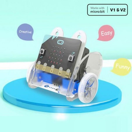 ELECFREAKS Ring:bit car v2.0 for micro:bit (without micro:bit) EF08201