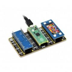 Raspberry Pi Pico Evaluation Kit (Type B), The Pico + Color LCD + IMU Sensor + GPIO Expander (WS-19439)