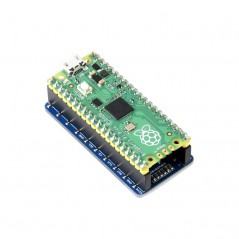1.3inch OLED Display Module for Raspberry Pi Pico, 64×128, SPI/I2C (WS-19376)