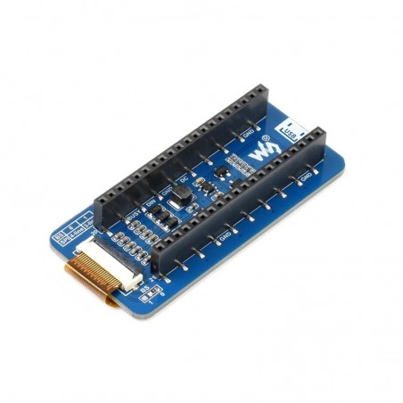 2.13inch E-Paper E-Ink Display Module (B) for Raspberry Pi Pico, 212×104, Red / Black / White, SPI (WS-19588)