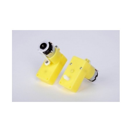 Micro DC Down Speed Gear Motor Pair /Offset Shaft (Dagu)
