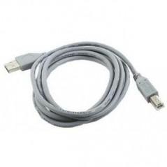 USB-A-B-1.8M USB2.0 prepojovací A-B, dĺžka 1.8m (CU201-B) (CCP-USB2-AMBM-6G)