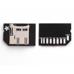 Low-profile microSD card adapter for Raspberry Pi (Adafruit 966) IM131112001 800051001