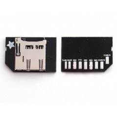 Low-profile microSD card adapter for Raspberry Pi (Adafruit 966) IM131112001 800051001