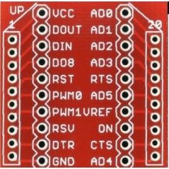 Breakout Board for XBee Module (Sparkfun BOB-08276)