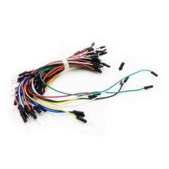 MALE-MALE BREADBOARD JUMPER WIRE 75x PACK (PCW06500D)