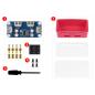 USB HUB BOX for Raspberry Pi Zero Series, 4x USB 2.0 Ports (WS-20892)