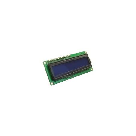 MIKROELEKTRONIKA LCD 2x16 with blue backlight