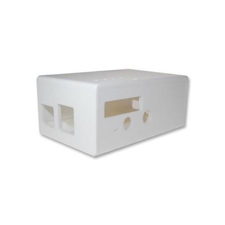 CBRPF-WHT (CAMDENBOSS) ENCLOSURE, BOX RASPBERRY PI FACE, WHITE