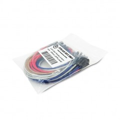 FEMALE - FEMALE JUMPER WIRE - 300MM (20PCS PACK)