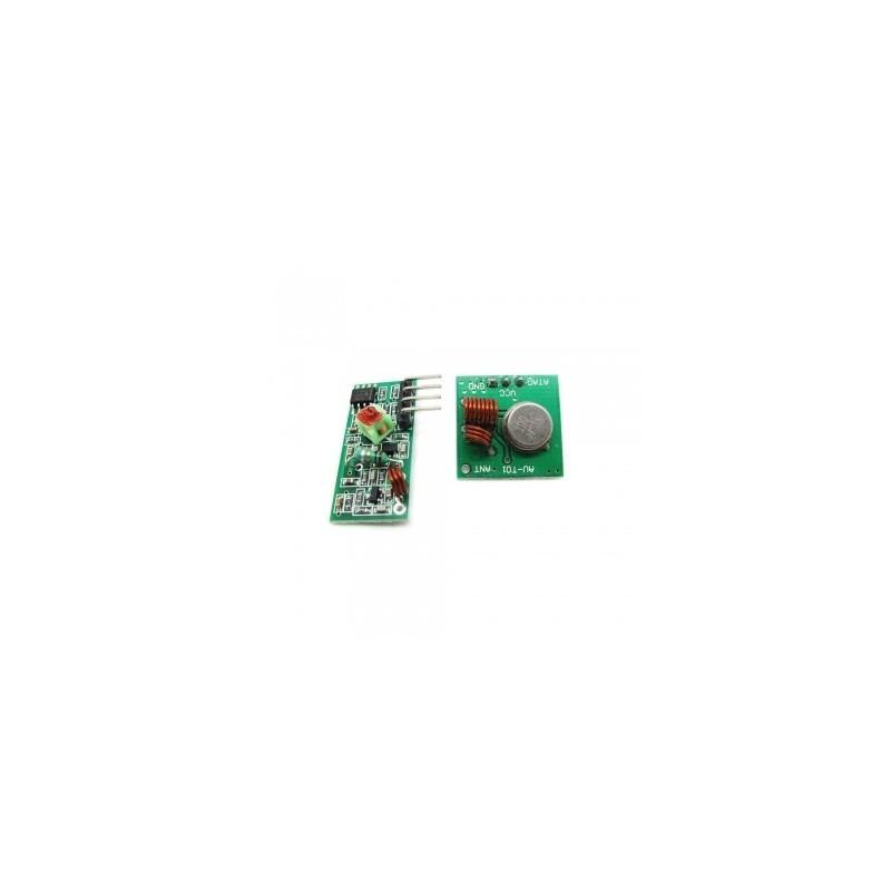 433MHz RF Link Kit (ITead Studio)  1x transmitter + 1x receiver