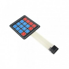 Sealed Membrane keyboard 4x4 Button Pad with Sticker