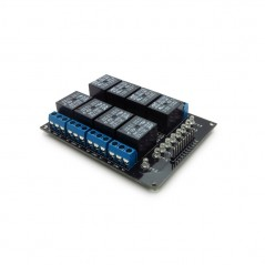 RELAY MODULE 8-CHANNELS 5V WITH 8LED for Arduino, AVR, PIC, ARM,MSP430,.. (ER-ARE00108SL )