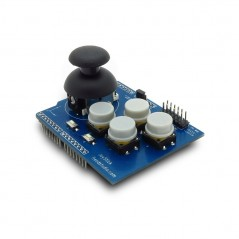 JOYSTICK ARDUINO SHIELD 7xmomentary buttons + 2-axis thumb joystick