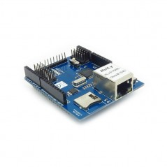 *replaced ASW51001E* ETHERNET SHIELD ITEAD W5100 WIZnet with POE and Micro-SD 5V/3.3V (for Arduino)