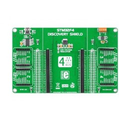 STM32F4 Discovery Shield (Mikroelektronika)