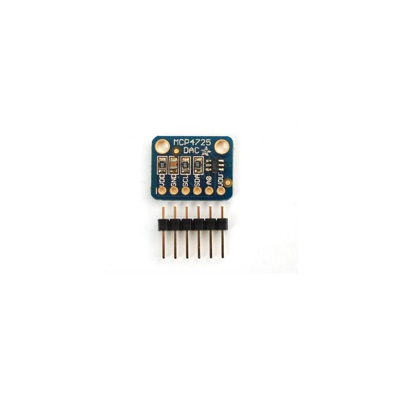 MCP4725 Breakout Board 12bit DAC w/I2C Interface (Adafruit 935)