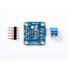 INA169 Analog DC Current Sensor Breakout  60V 5A Max (Adafruit 1164)