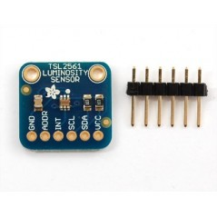 TSL2561 digital luminosity / lux / light sensor (Adafruit 439)