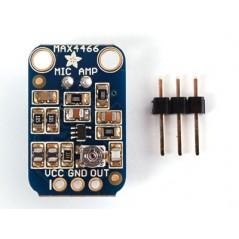Electret Microphone Amplifier MAX4466 Adjustable Gain (Adafruit 1063)